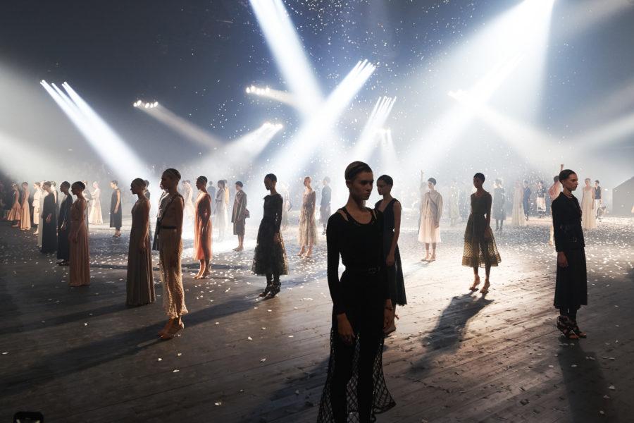 La body art di Dior per la Spring-Summer 2019
