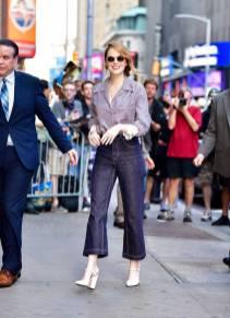 Emma Stone in Fendi, NY