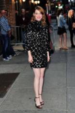 Emma Stone al 'The Late Show with Stephen Colbert', New York