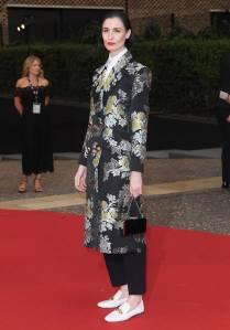Erin O'Connor In Erdem ai GQ Men of the Year Awards