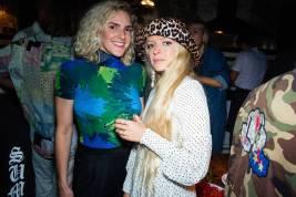 Maragaret Crow e Hannah Weiland al GANNI Paradis AW18 launch party, London