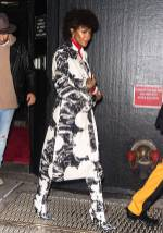 Naomi Campbell al Calvin Klein show, New York Fashion Week –