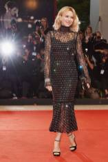 Naomi Watts in Dolce & Gabbana all''At Eternity's Gate' screening Venice Film Festival, Venice