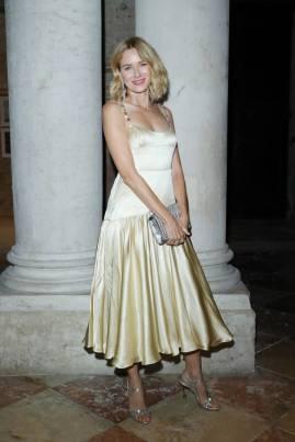 Naomi Watts in Miu Miu e Messika al Dinner celebration for Miu Miu Women's Tales screening, Venice