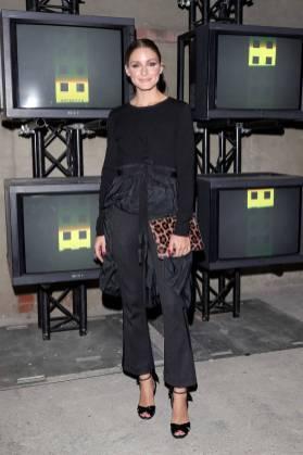 Olivia Palermo al Moncler Genius 'The Next Chapter' presentation, Milan Fashion Week