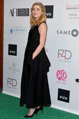 Amber Heard in Tome al Fashion 4 Development event, New York.