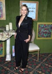 Emilia Clarke al HBO Films' 'My Dinner With Herve' premiere, California