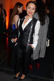 Emilia Clarke al Persol & BFI London Film Festival Awards party