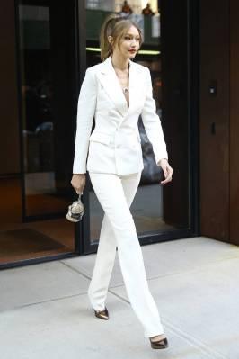 Gigi Hadid in Ralph LaurenNY