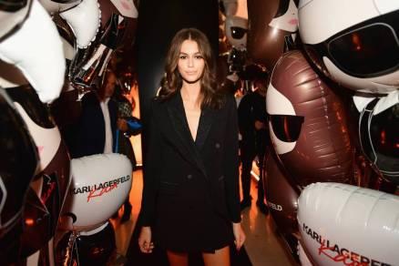Kaia Gerber al Karl Lagerfeld X Kaia capsule collection launch party, Paris