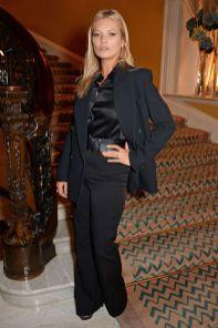 Kate Moss in Michael Kors Collection al Michael Kors and David Downton's cocktail party al Claridge's, London.