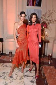 Kendall Jenner e Bella Hadid all'YouTube cocktail party, Paris Fashion Week