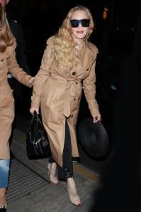Madonnain Riccardo Tisci's Spring Summer 2019 Burberry runway collection , Paris