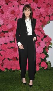 Michelle Dockery in Giorgio Armani al Remembering Audrey Hepburn charity gala, London