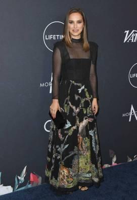 Natalie Portman in Dior al Variety's Power Of Women, Los Angeles