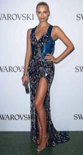 Natasha Polly in Atelier Versace con cristalli Swarovski al Swarovski event, Austria