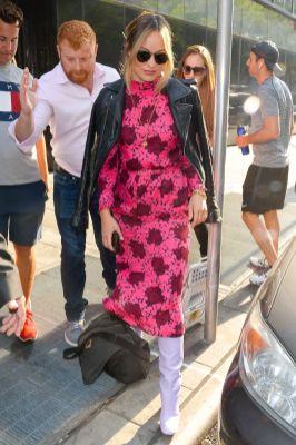 Olivia Wilde in Kate Spade, New York.