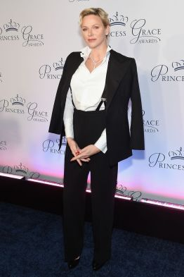 Princess Charlene of Monaco ai Princess Grace Awards