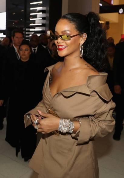 Rihanna in Monse al Rihanna x Sephora 'Uninvited' launch, Dubai