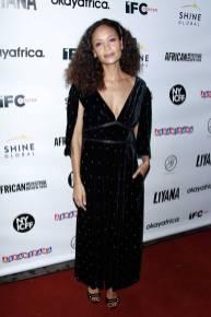 Thandie Newton alla Liyana film screening, New York