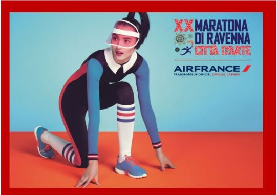 Air France Vettore Ufficiale della Maratona di Ravenna