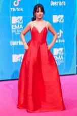 Camila Cabello agli European MTV Awards, Bilbao