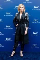 Cate Blanchett in Alexander McQueen all'IWC Schaffhausen Event, Shanghai
