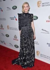 Cate Blanchett in Givenchy ai The British Academy Britannia Awards, California