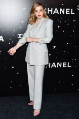 Chloe Grace Moretz in Dior al Film Benefit A Tribute To Martin Scorsese at the Museum of Modern Art,New York.
