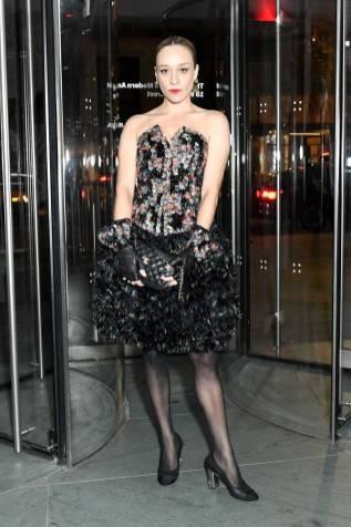 Chloe Sevigny in Chanel al Museum Of Modern Art's 11th Annual Film Benefit, New York
