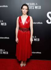 Claire Foy al The Girl In The Spider's Web Screening, New York