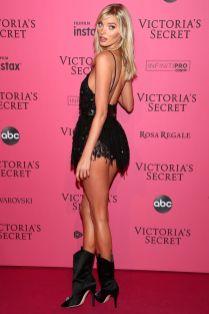 Elsa Hosk al Victoria's Secret show after-party,NY