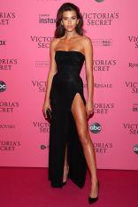 Georgia Fowler al Victoria's Secret show after-party,NY