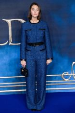 Iris Law in Chanel alla Fantastic Beasts The Crimes Of Grindelwald,London