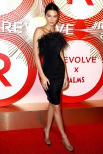 Kendall Jenner in Revolve ai Revolve awards