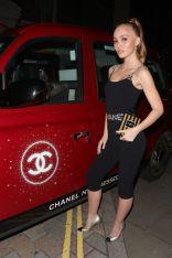 Lily-Rose Depp in Chanel alla cena da Annabel's, London.