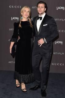 Sam Taylor-Johnson in Vampire's Wife e Aaron Taylor-Johnson al LACMA Art + Film Gala, Los Angeles