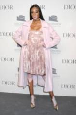 Winnie Harlow in Dior al Guggenheim International Gala, New York
