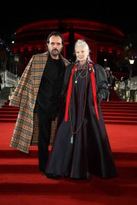 Andreas Kronthaler e Vivienne Westwoodn ai Fashion Awards 2018, London