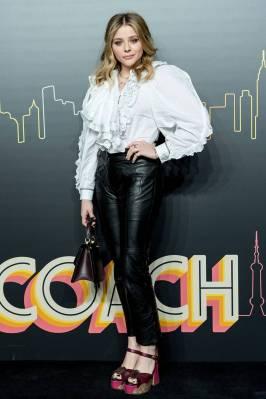 Chloe Grace Moretz in Coach alla Coach Pre-Fall Show, Shanghai