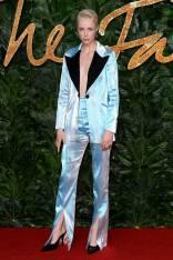 Edie Campbell in 16Arlington ai Fashion Awards 2018, London