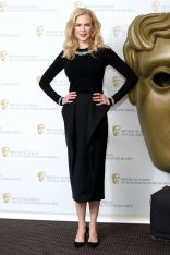 Nicole Kidman in Michael Kors Collection ai BAFTA Life in Pictures tribute,London.