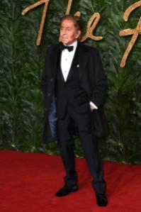 Valentino Garavani ai Fashion Awards 2018, London