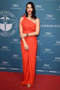 Adriana Lima all'IWC Schaffhausen gala,Geneva.