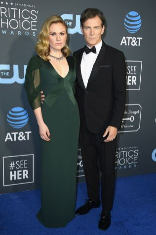 Anna Paquin e Stephen Moyer ai 2019 Critics' Choice Awards