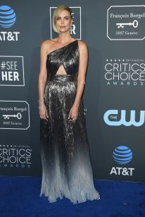 Charlize Theron ai 2019 Critics' Choice Awards