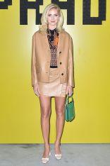 Chiara Ferragni in Prada al Prada menswear show, Milan