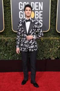 Darren Criss ai Golden Globes 2019