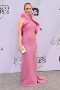 Emily Blunt in Michael Kors e Forevermark gioielli ai SAG Awards 2019