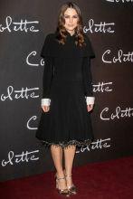 Keira Knightley alla premiere of Colette, Paris